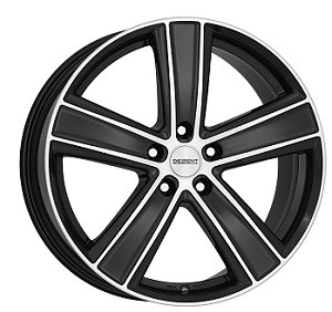Dezent TH 7,5X17/5X112 ET32 DIA70,1 Black/polished front