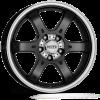 Dotz CRUNCH 8X16/6X114,3 ET30 DIA66,1 Black/polished front